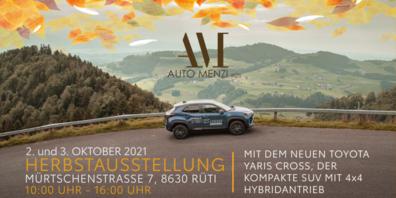 Der Fahrzeugpark der Auto Menzi AG lässt keine Fahrzeugwünsche offen.