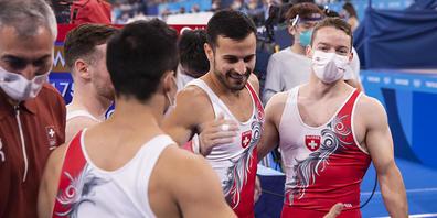Pablo Brägger legte zum Abschluss seiner Karriere im Teamfinal in Tokio einen tadellosen Wettkampf hin