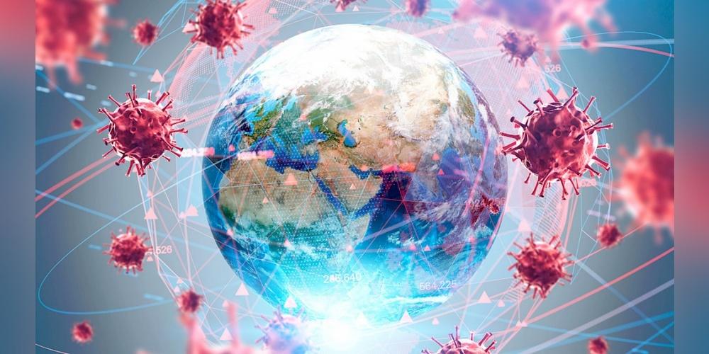 Corona-Pandemie rund um den Globus.