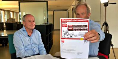 Linth24-Verleger Bruno Hug im «Inside Paradeplatz»-Interview mit Lukas Hässig: «Die Verleger sind steinreich.»