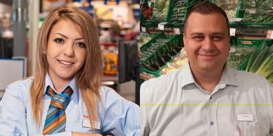 Nita Arifaj und Waldemar Paradowski übernehmen bei Coop mehr Verantwortung.
