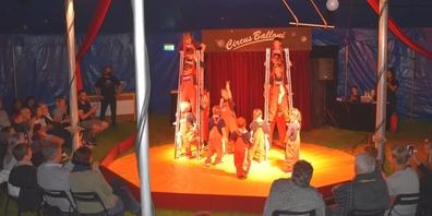 Das Publikum bekam eine Vielzahl einstudierter Zirkusnummern zu sehen.