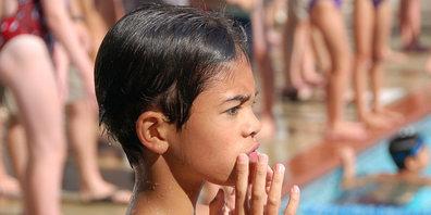 Viele gute Schwimmer/innen am Bubiker Schwimm-Wettbewerb (Symbolbild)