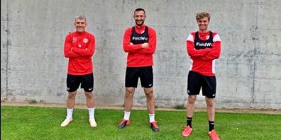 Ruben Pousa, Arbnor Fejzulahi und Nicolas Herter sind für weitere zwei Jahre beim FCRJ.