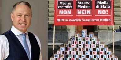 Dr. Gut: «Die Schweiz hat jetzt die einmalige Chance, die Glaubwürdigkeit und Unabhängigkeit der Medien zu wahren.»