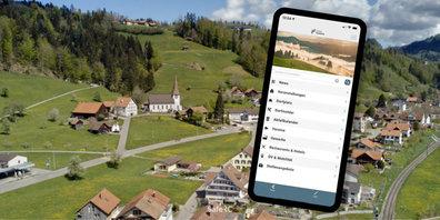 Die Gemeinde Fischenthal hat eine App mit News, Infos und digitalem Dorfplatz lanciert.