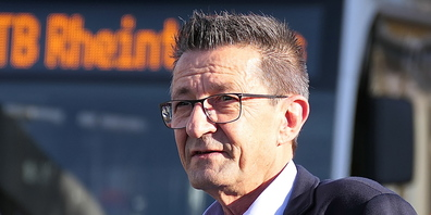 Gemeinderpräsident Reto Friedauer ist über das Flugblatt der IG Margrethen «not amused»