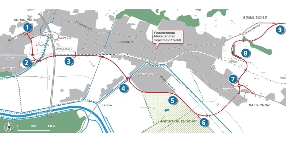 Aus Sicht der IGMRU ist höchste Zeit, das Projekt geplante Verbindungsstrasse A15-Gaster fallen zu lassen.