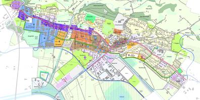 Ein Auszug aus dem Uzner Gemeinderichtplan vom 7. Mai 2021, zu dem die UznerInnen sich nun äussern können.