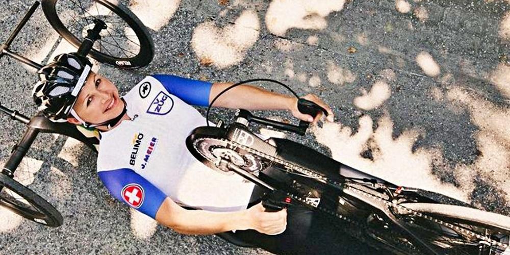 Die Rapperswilerin Sandra Stöckli bestreitet seit sieben Jahren Wettkämpfe mir dem Handbike.