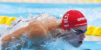 Pfeilschnell unterwegs: der Tessiner Schwimmer Noè Ponti