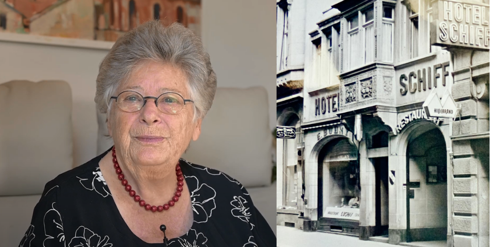 Alt-Stadträtin Liana Ruckstuhl wuchs in der Marktgasse 10 auf.