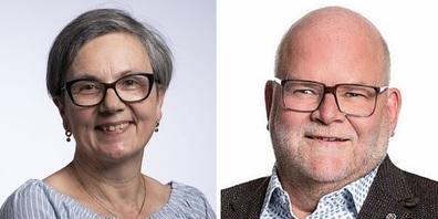 Doris Rüegg Malgaroli (SP Wil) und Marcel Malgaroli (FDP Wil).