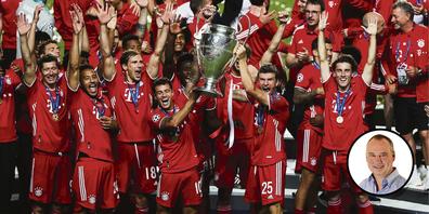 Der FC Bayern gewann am Sonntag zum sechsten Mal die Champions League. (Bild: Keystone)