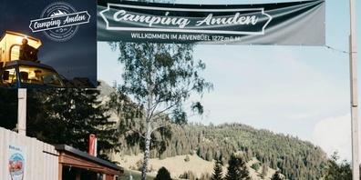 Willkommen auf dem Campingplatz Amden.