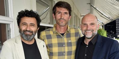 Von links: Rocco Delli Colli, Pedro Silva, Stefan Flühmann