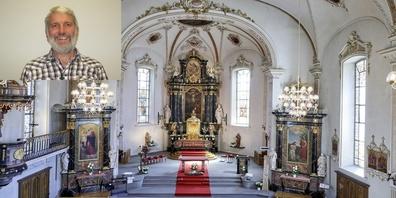 Im Gottesdienst vom Sonntag, 16. August wird der Seelsorger Hans Hüppi offiziell verabschiedet.