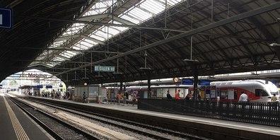 Besonders am St. Galler Bahnhof schlagen die Bettler zu.