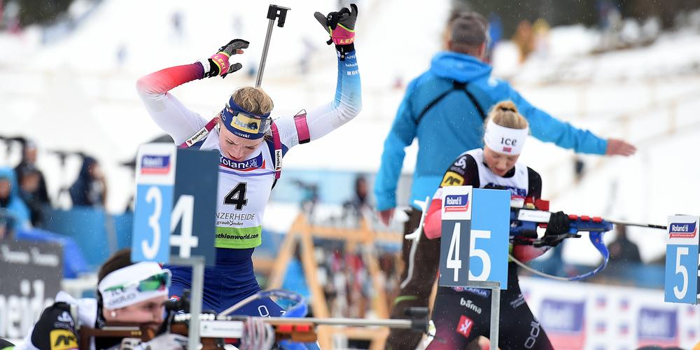 Am Schluss entschieden die Schiessfehler über die Medaillen. Foto: Franz Feldmann