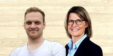 Dario Grassi und Elisabeth Brunner-Müller
