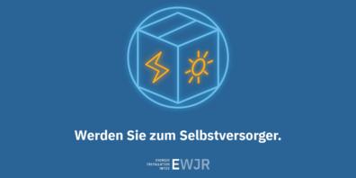 Mit dem EWJR Energie-Paket werden Sie zum Selbstversorger, geniessen gleichzeitig aber auch einen Rundum-Service.
