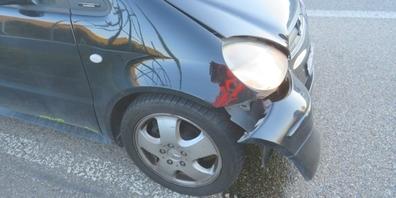 Das Auto des 67-Jährigen, das zu spät abbremste und in der Folge kollidierte.