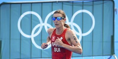 """Nicola Spirig war nach ihrem fünften olympischen Rennen trotz verpasster Medaille """"sehr, sehr zufrieden. Dass ich immer noch zur Weltspitze gehöre, macht mich stolz"""""""