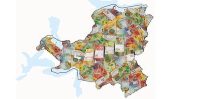 Trotz Härtefallgeldern wird der Kanton Schwyz dieses Jahr voraussichtlich wieder mit einem grossen Plus abschliessen.