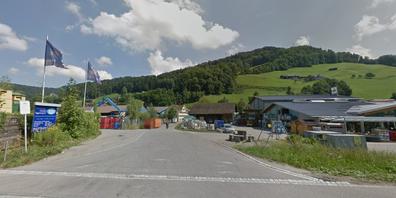 Die Floozstrasse in Wattwil.