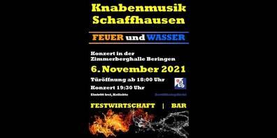 DieKnabenmusik Schaffhausen lädt zum Konzert und Aper ein.