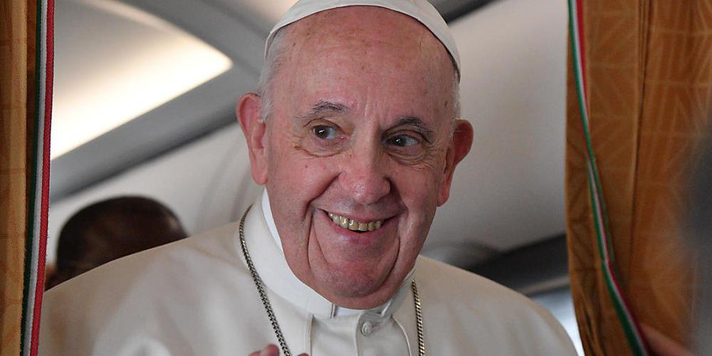 Auch Papst Franziskus flog regelmässig mit einer Maschine der Alitalia. (Archivbild)