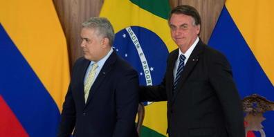 Brasiliens Präsident Jair Bolsonaro und sein kolumbianischer Amtskollege  Ivan Duque wollen am Weltklima-Gipfel in Glasgow auf die Souveränität im Amazonsgebiet pochen.