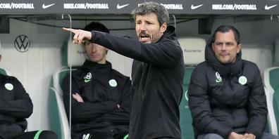Seine Anweisungen kamen nicht mehr an im Team: Mark van Bommel wurde bei Wolfsburg entlassen