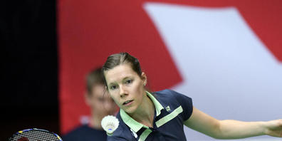 Sabrina Jaquet vertritt die Schweiz im Badminton zum dritten Mal an Olympischen Spielen