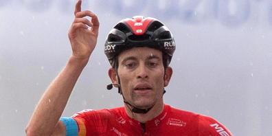Gino Mäders bisher grösster Erfolg der Karriere: Sieg in der 6. Etappe des diesjährigen Giro d'Italia