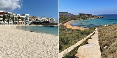 Malta überzeugt mit mit zahlreichen, auch sehr unterschiedlichen Stränden.