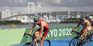 Der 25-jährige Solothurner Max Studer wird im olympischen Triathlon als bester Schweizer Neunter