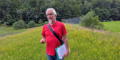 Landschaftsarchitekt Robert Kull lebt in Trogen
