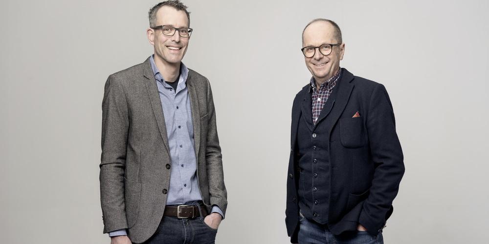Heinz Sauter und Lukas Knechtle (rechts)