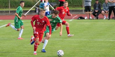 Nach Balleroberung kam der Bayern-Express ins Rollen