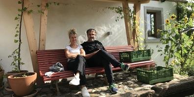 Hanna Scheuring und Daniel Rohr aus Bubikon sind angespannt, was die Besucherzahlen betrifft.