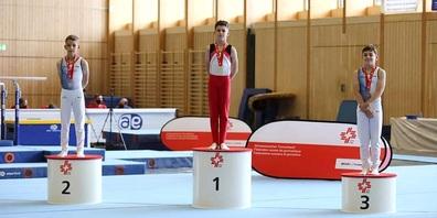 Misha Moser gewinnt Gold uns ist Schweizer Meister im P1.
