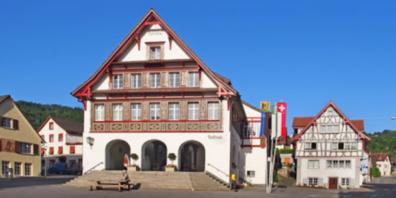 Das Gemeindehaus in Berneck