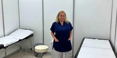 Sabine Felix, medizinische Leitern im Impfzentrum Jona: «Heute werden wir insgesamt wohl über 700 Personen geimpft haben.»
