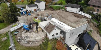 Der Ersatzbau des Trinkwasser-Reservoirs Laufenbach ist abgeschlossen.