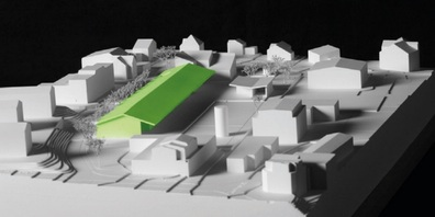 Auch das Modell des Siegerprojekts für den neuen Werkhof Uzwil kann ab dem 5. Oktober besichtigt werden.