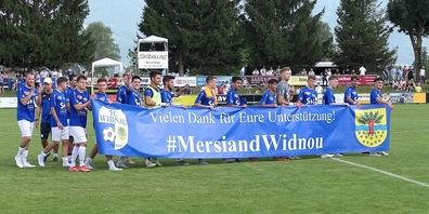 Der FC Widnau bildet derzeit eine starke Einheit