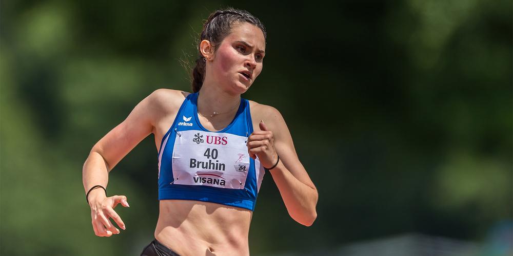 Die Galgenerin Shoelle Bruhin schied über 100 und 400 Meter jeweils im Vorlauf aus.