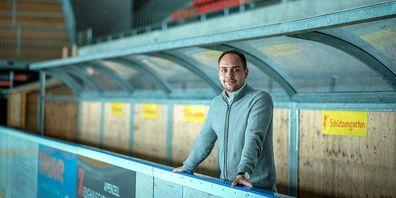 Der 30-jährige Dario Heinrich ist seit drei Jahren Präsident des SC Herisau.