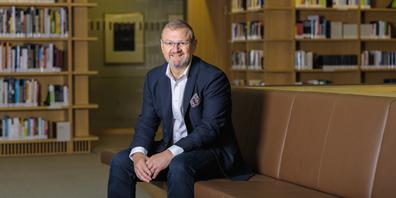 Roland Waibel, Leiter des Instituts für Unternehmensführung an der OST
